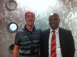 Ben Mercier meets Quinton Fortune