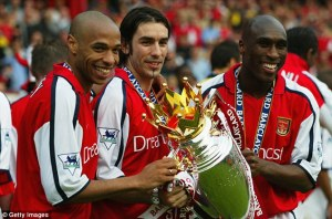 robert pires won premier league