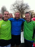 benoit mercier running with robbie savage