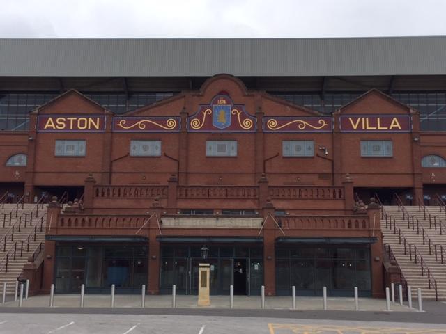 Aston Villa Stadium Tour Benoit Mercier